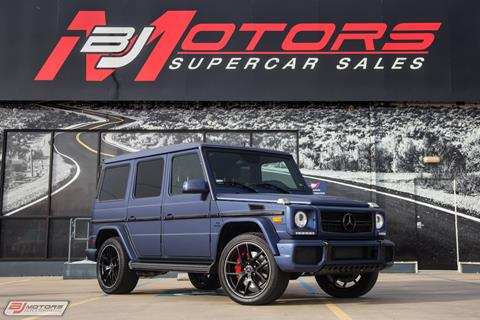2016 Mercedes-Benz G-Class for sale in Tomball, TX