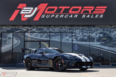 2016 Dodge Viper ACR for sale at BJ Motors in Tomball TX