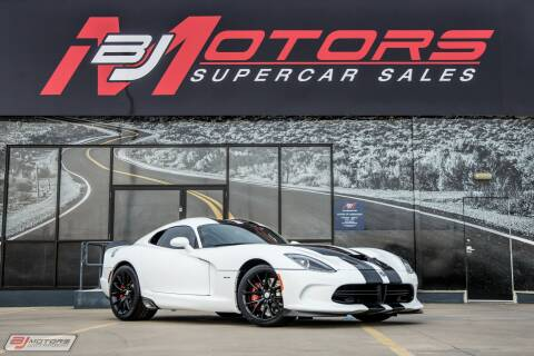 2014 Dodge SRT Viper GTS for sale at BJ Motors in Tomball TX