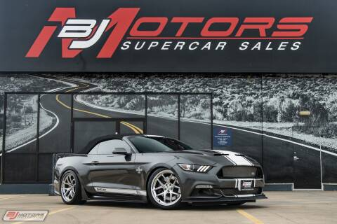 2017 Ford Mustang GT Premium for sale at BJ Motors in Tomball TX