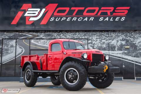 1950 Dodge Power Wagon for sale at BJ Motors in Tomball TX