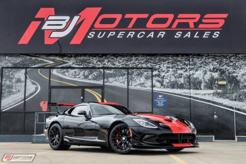2017 Dodge Viper GTC for sale at BJ Motors in Tomball TX