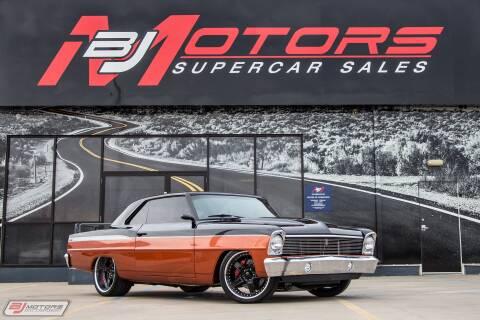 1967 Chevrolet Nova for sale at BJ Motors in Tomball TX