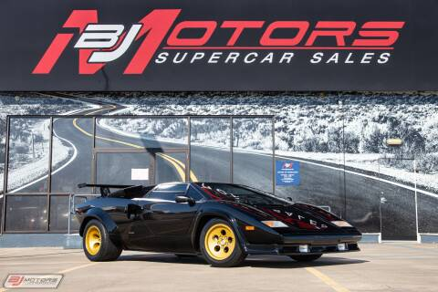 1987 Lamborghini Countach for sale at BJ Motors in Tomball TX