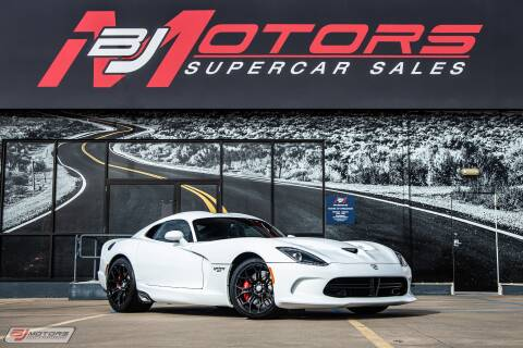 2017 Dodge Viper for sale at BJ Motors in Tomball TX