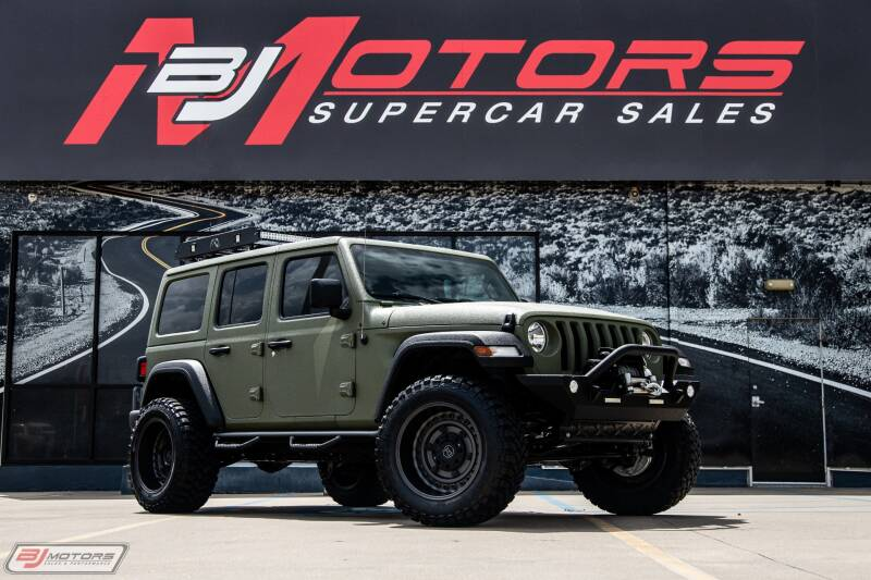 2018 Jeep Wrangler Unlimited for sale at BJ Motors in Tomball TX