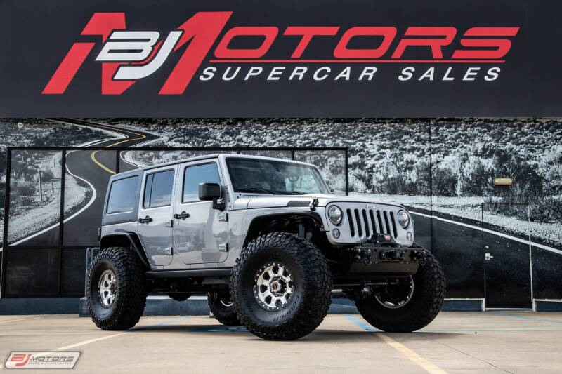 2015 Jeep Wrangler Unlimited for sale at BJ Motors in Tomball TX