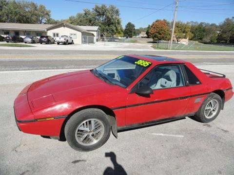 1984 Pontiac Fiero for sale in Council Bluffs, IA