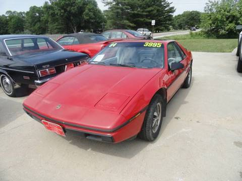 1984 Pontiac Fiero for sale in Council Bluffs, IA