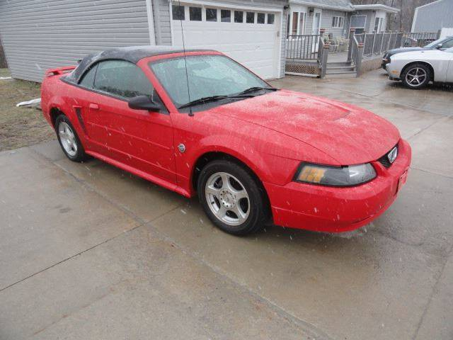 2004 Ford Mustang for sale at John's Auto Sales in Council Bluffs IA