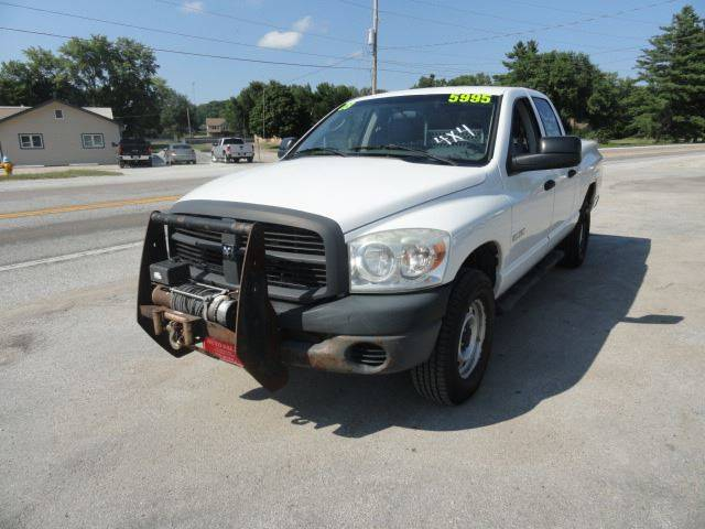 2008 Dodge Ram Pickup 1500 for sale at John's Auto Sales in Council Bluffs IA