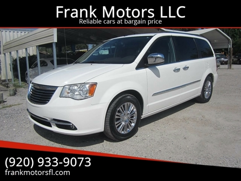2011 Chrysler Town and Country for sale in Daytona Beach, FL