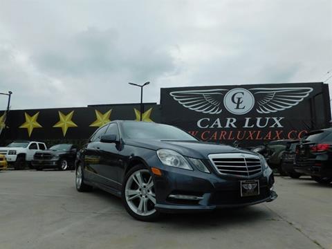 2011 Mercedes-Benz E-Class for sale in Lennox, CA