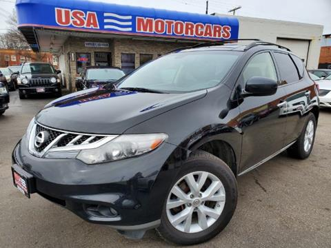 2012 Nissan Murano for sale at USA Motorcars in Cleveland OH
