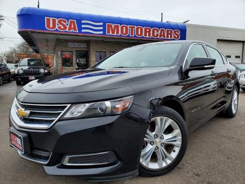 2015 Chevrolet Impala for sale at USA Motorcars in Cleveland OH