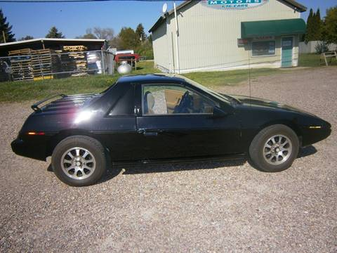 1984 Pontiac Fiero for sale in Ronan, MT
