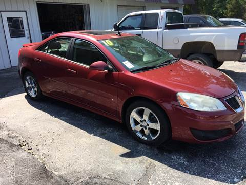 2010 Pontiac G6 for sale in Hartselle, AL