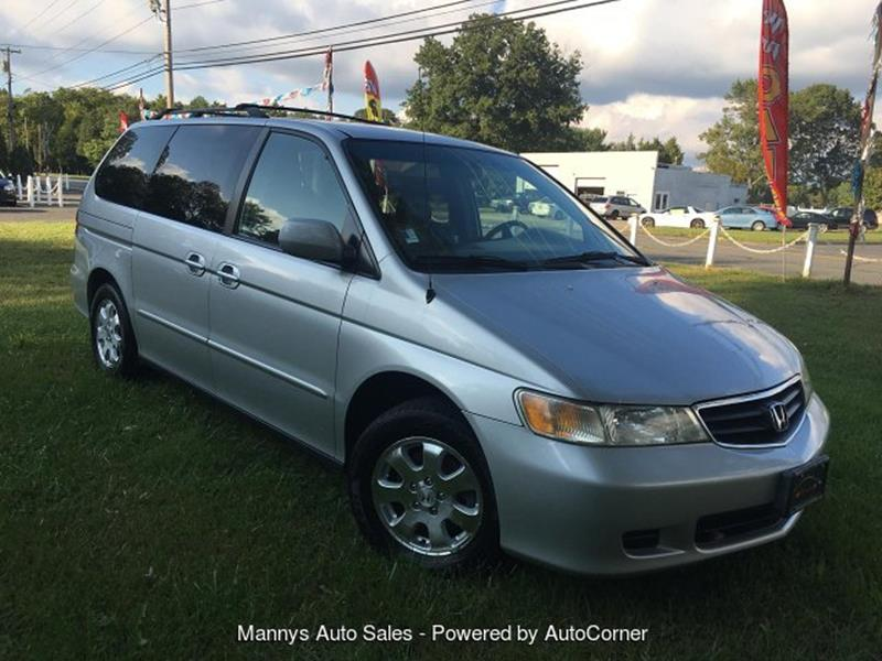 2002 Honda Odyssey for sale at Manny's Auto Sales in Winslow NJ
