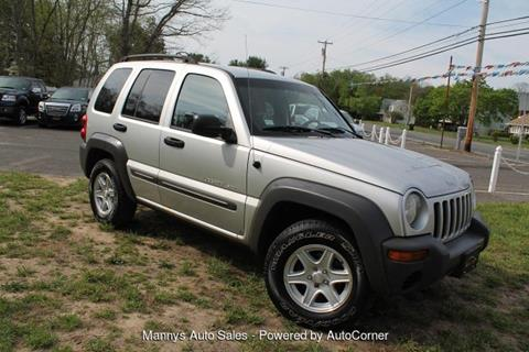 2003 Jeep Liberty for sale at Manny's Auto Sales in Winslow NJ