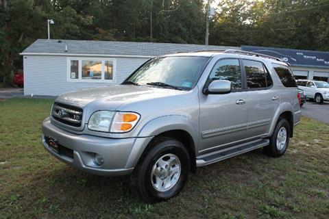 2002 Toyota Sequoia for sale at Manny's Auto Sales in Winslow NJ