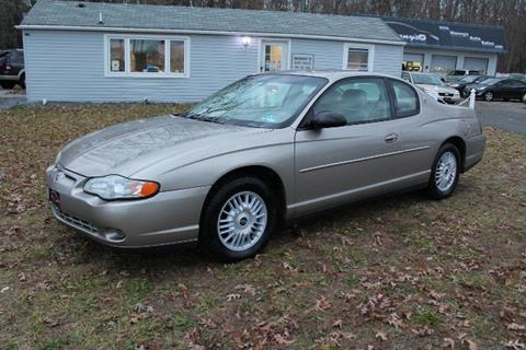2002 Chevrolet Monte Carlo for sale at Manny's Auto Sales in Winslow NJ