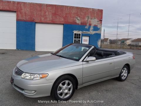 2002 Toyota Camry Solara for sale at Manny's Auto Sales in Winslow NJ