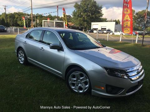 2011 Ford Fusion for sale at Manny's Auto Sales in Winslow NJ