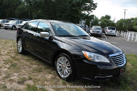 2013 Chrysler 200 for sale at Manny's Auto Sales in Winslow NJ