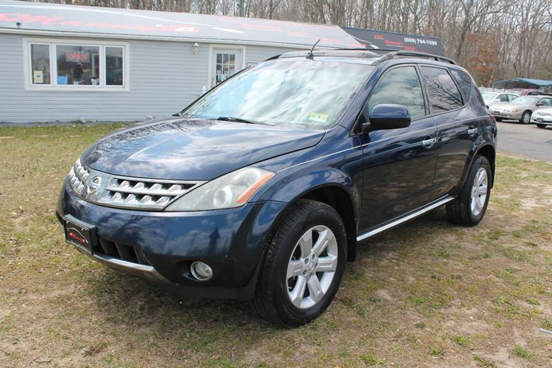 2007 Nissan Murano For Sale At Mannyu0027s Auto Sales In Winslow NJ