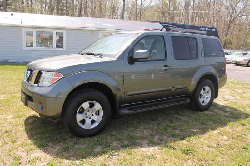 2005 Nissan Pathfinder For Sale At Mannyu0027s Auto Sales In Winslow NJ