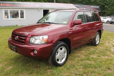 2005 Toyota Highlander for sale at Manny's Auto Sales in Winslow NJ