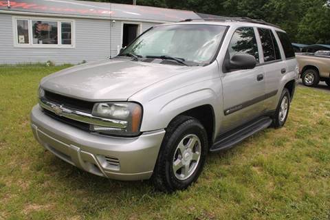 2004 Chevrolet TrailBlazer for sale at Manny's Auto Sales in Winslow NJ