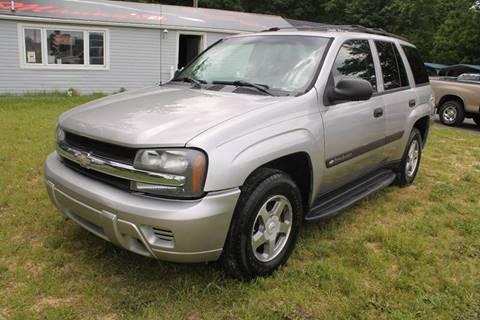 2004 Chevrolet TrailBlazer for sale at Manny's Auto Sales in Winslow NJ