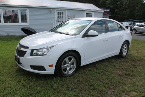2013 Chevrolet Cruze for sale at Manny's Auto Sales in Winslow NJ