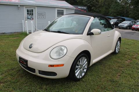 2009 Volkswagen New Beetle for sale at Manny's Auto Sales in Winslow NJ