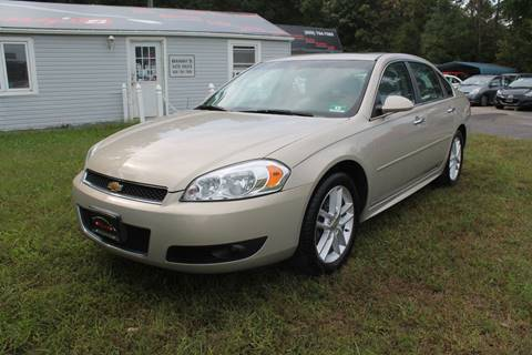 2012 Chevrolet Impala for sale at Manny's Auto Sales in Winslow NJ