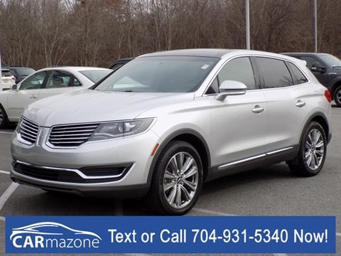 2016 Lincoln MKX for sale in Salisbury, NC