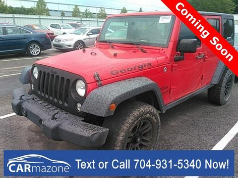 2014 Jeep Wrangler Unlimited for sale in Salisbury, NC