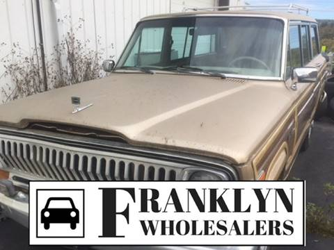 1989 Jeep Grand Wagoneer for sale in Cohoes, NY