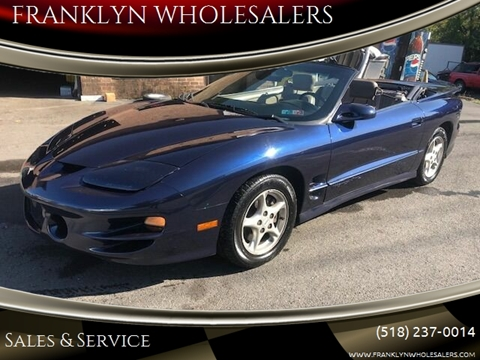 2001 Pontiac Firebird for sale in Cohoes, NY