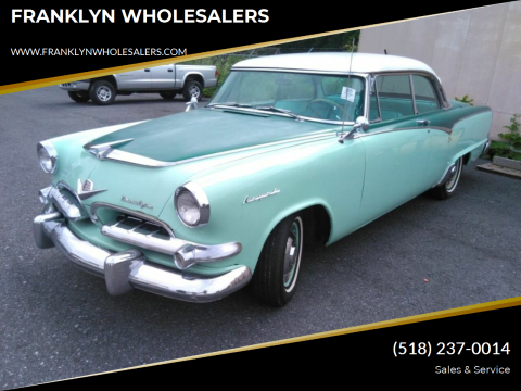 1955 Dodge Lancer for sale at FRANKLYN WHOLESALERS in Cohoes NY