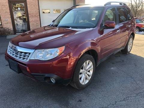 2013 Subaru Forester 2.5X Premium for sale at FRANKLYN WHOLESALERS in Cohoes NY