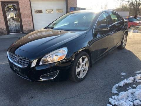 2012 Volvo S60 T5 for sale at FRANKLYN WHOLESALERS in Cohoes NY