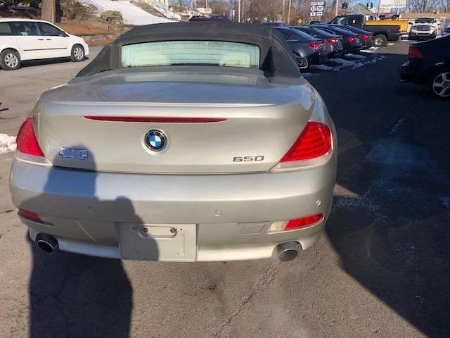 2006 BMW 6 Series 650i (image 4)