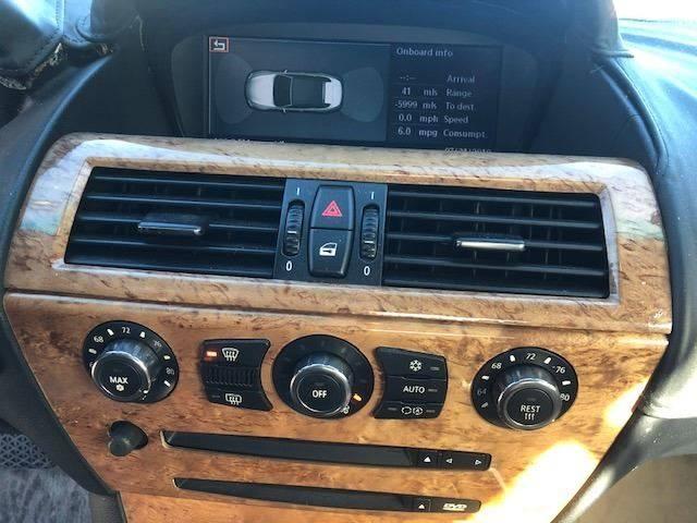 2006 BMW 6 Series 650i (image 13)