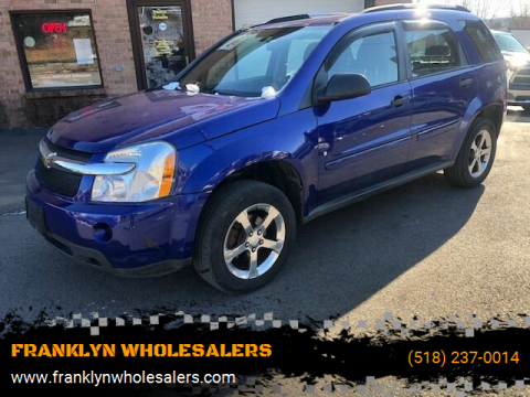 2007 Chevrolet Equinox LS for sale at FRANKLYN WHOLESALERS in Cohoes NY