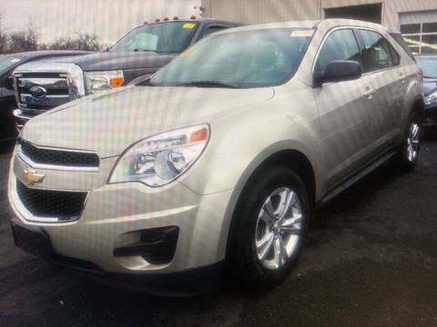 2015 Chevrolet Equinox LS for sale at FRANKLYN WHOLESALERS in Cohoes NY