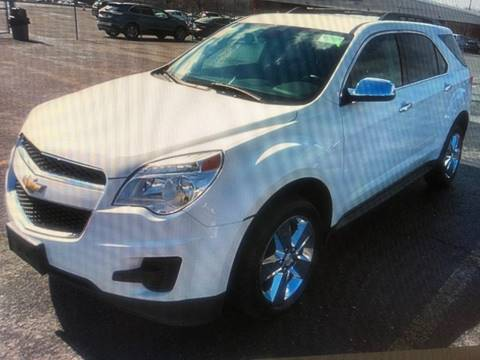 2015 Chevrolet Equinox LT for sale at FRANKLYN WHOLESALERS in Cohoes NY