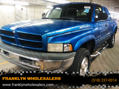 1999 Dodge Ram Pickup 1500 ST for sale at FRANKLYN WHOLESALERS in Cohoes NY