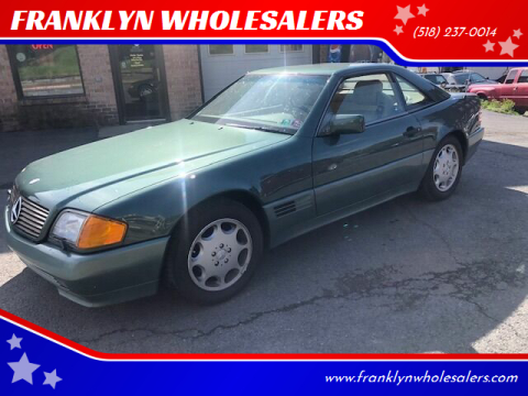 1994 Mercedes-Benz SL-Class SL 500 for sale at FRANKLYN WHOLESALERS in Cohoes NY